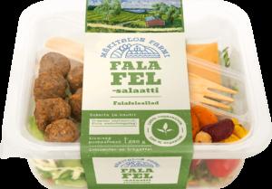 Mäkitalon Farmin Falafelsalaatti